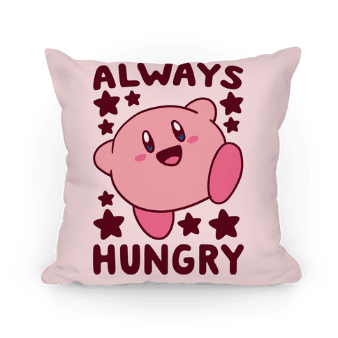 Always Hungry - Kirby Pillow