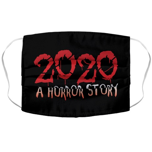 2020 A Horror Story Accordion Face Mask