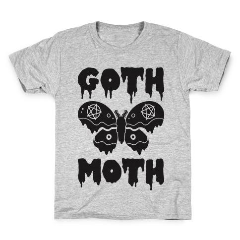 Goth Moth Kids T-Shirt