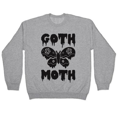 Goth Moth Pullover