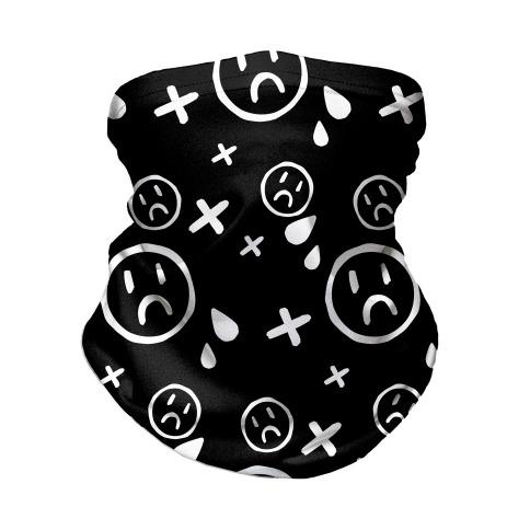 Emo Pattern Neck Gaiter