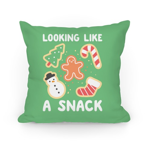 Looking Like A Snack Christmas Cookies Pillow