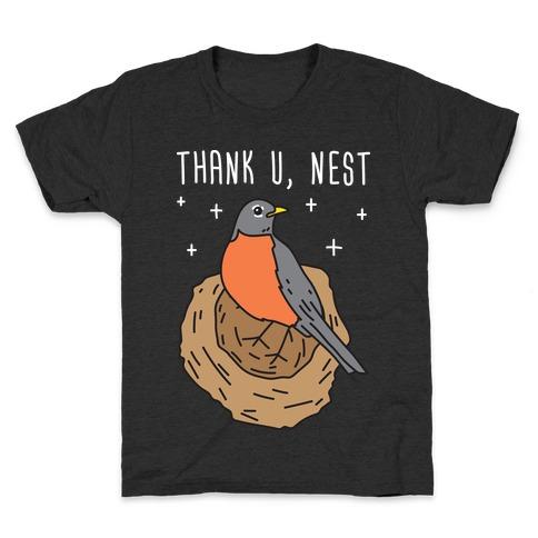 Thank U, Nest - Bird Kids T-Shirt