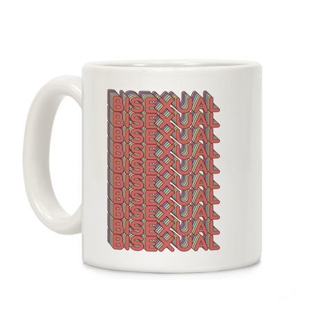 Bisexual Retro Rainbow Coffee Mug
