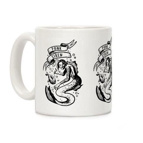 Punk Siren Coffee Mug