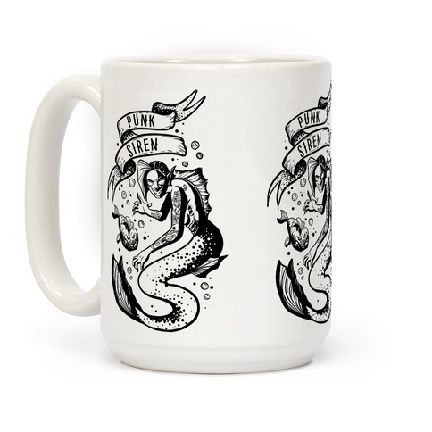 Punk Siren Coffee Mug
