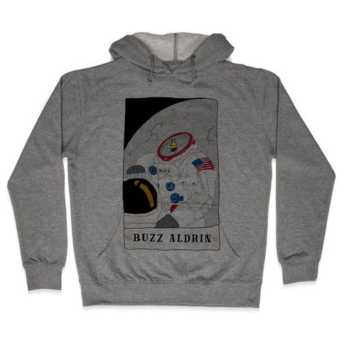 Buzz Aldrin Bee Hooded Sweatshirt