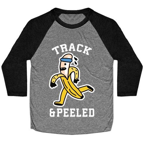 Track & Peeled Baseball Tee