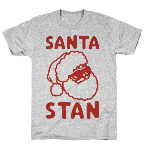 Santa Stan Parody Mens T-Shirt