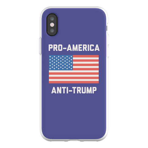 Pro-America Anti-Trump Phone Flexi-Case