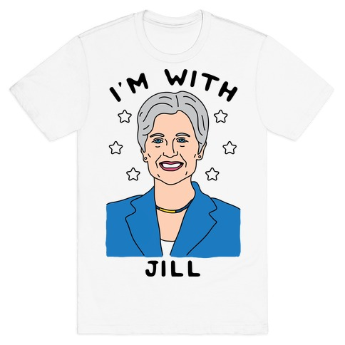 I'm With Jill Mens T-Shirt