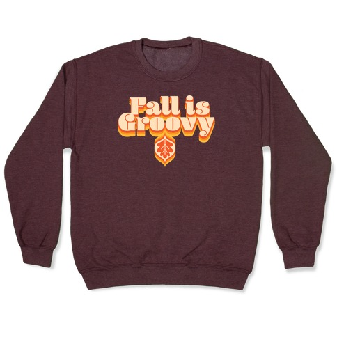 Fall Is Groovy Pullover