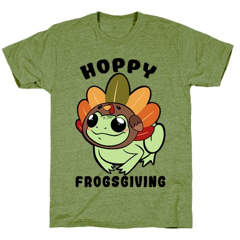 Hoppy Frogsgiving T-Shirt