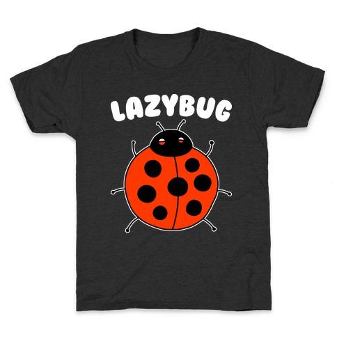 Lazybug Lazy Ladybug Kids T-Shirt