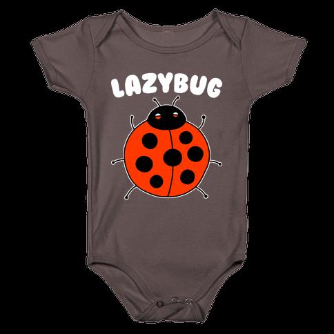 Lazybug Lazy Ladybug Baby One-Piece