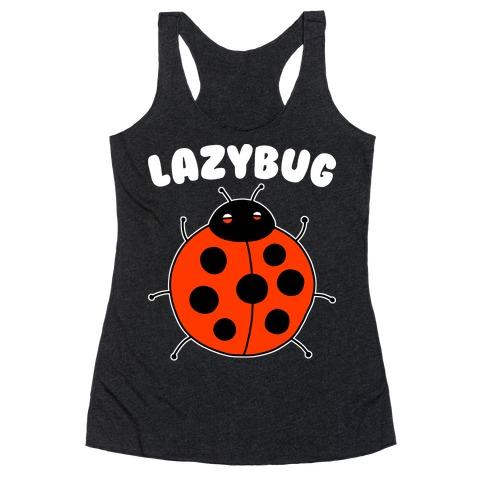 Lazybug Lazy Ladybug Racerback Tank Top
