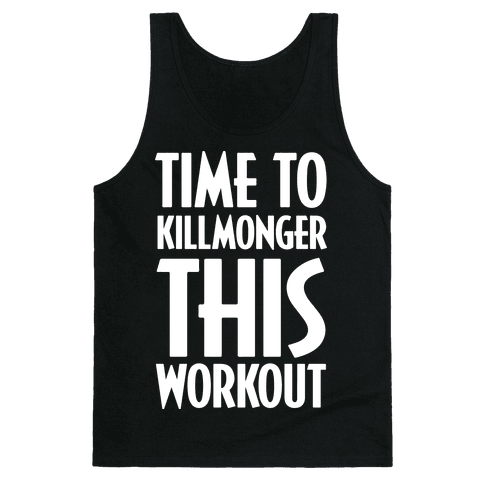 Time To Killmonger This Workout Tank Top