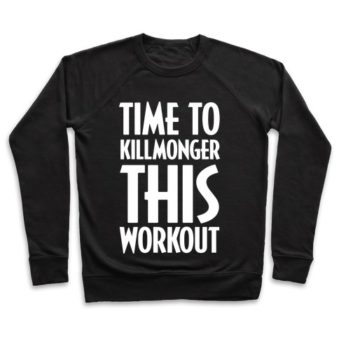 Time To Killmonger This Workout Pullover