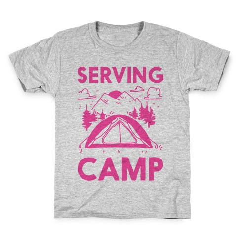 Serving CAMP Kids T-Shirt