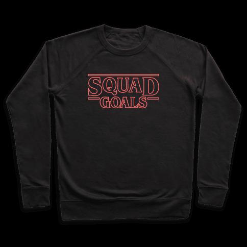 Stranger Squad Goals Parody (Red) Pullover