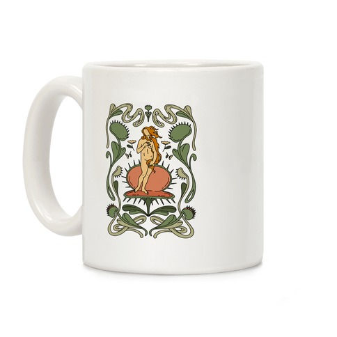 The Birth of Venus Fly Trap Coffee Mug