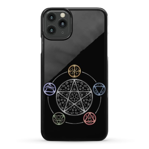 Witch's Elements In Balance Phone Case