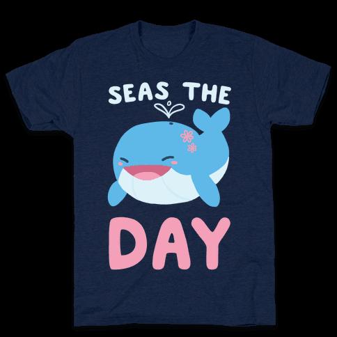 Seas the Day Mens T-Shirt