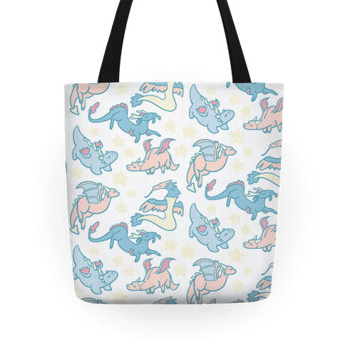 Dreamy Dragon Pattern Tote