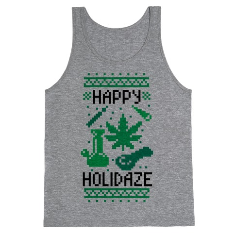 Happy Holidaze Tank Top