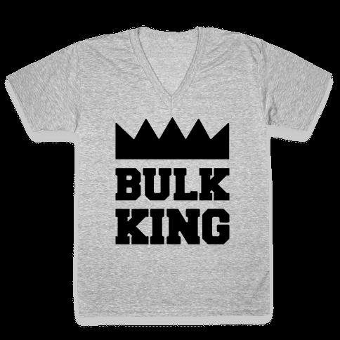 Bulk King V-Neck Tee Shirt