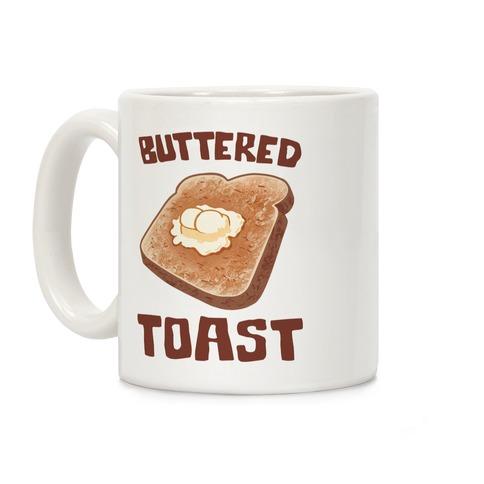 Buttered Toast Coffee Mug