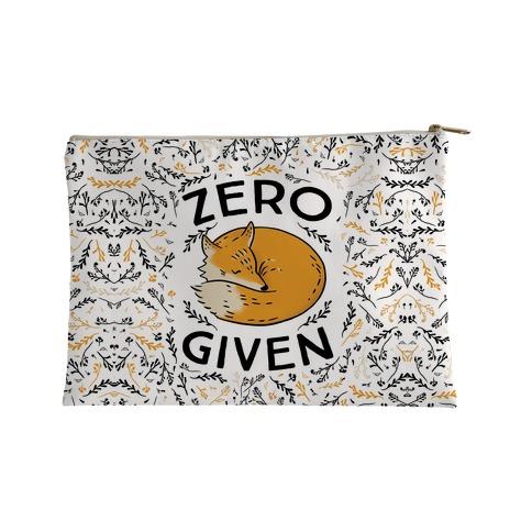 Zero Fox Given Accessory Bag