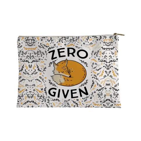 Zero Fox Given Accessory Bag