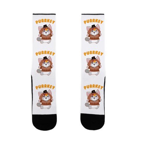 Purrkey Sock