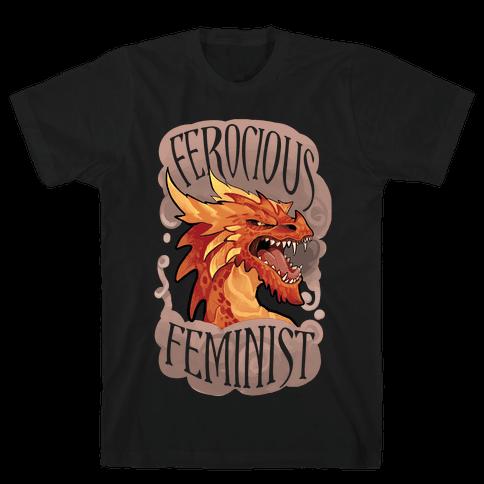 Ferocious Feminist Mens T-Shirt