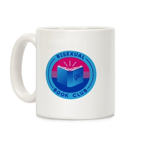 Bisexual Book Club Patch Coffee Mug