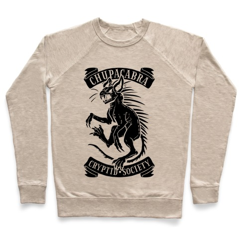 Chupacabra Cryptid Society Pullover