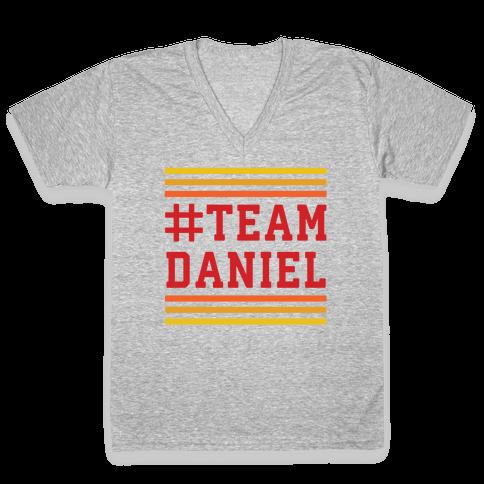 Team Daniel V-Neck Tee Shirt