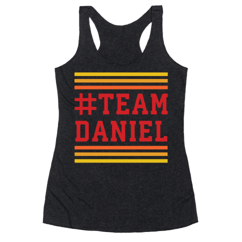 Team Daniel Racerback Tank Top