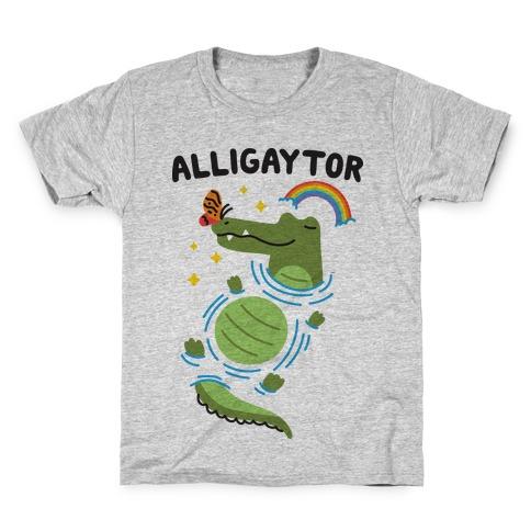 Alligaytor (Gay Alligator) Kids T-Shirt