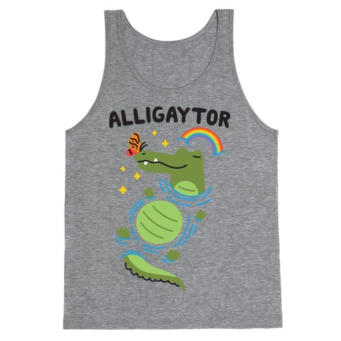 Alligaytor (Gay Alligator) Tank Top