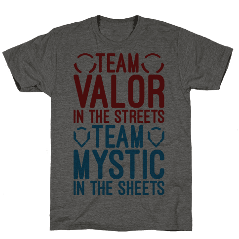 Team Valor In The Streets Team Mystic In The Sheets Parody