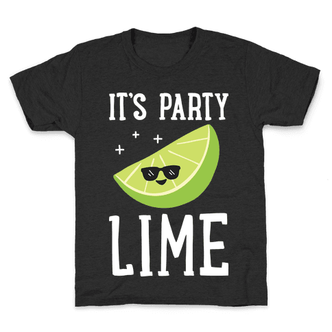 It's Party Lime Kids T-Shirt