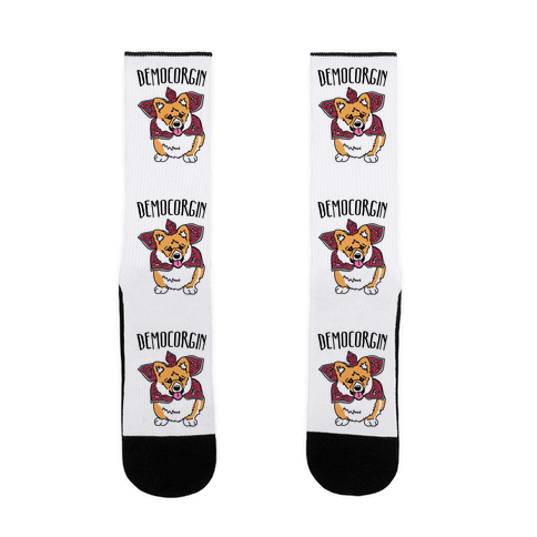 Democorgin Parody Sock
