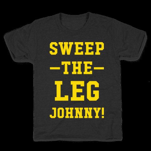 Sweep The Leg Johnny Kids T-Shirt