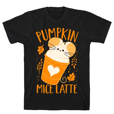 Pumpkin Mice Latte T-Shirt