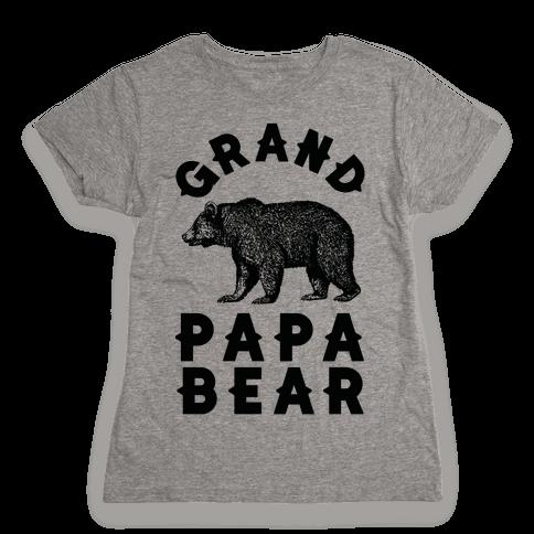 Grandpapa Bear Womens T-Shirt