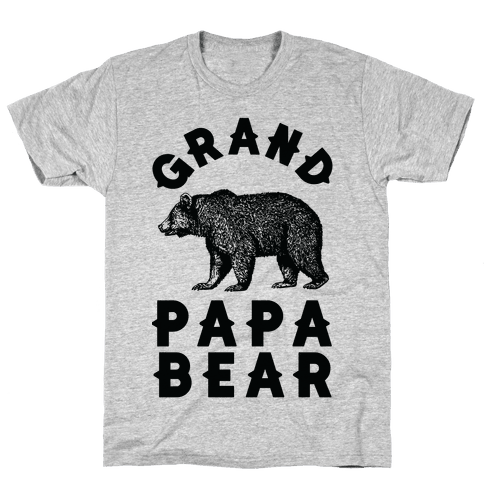 Grandpapa Bear Mens T-Shirt