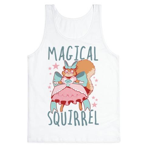 Magical Squirrel Tank Top