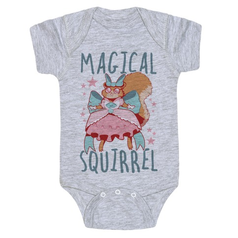 Magical Squirrel Baby Onesy